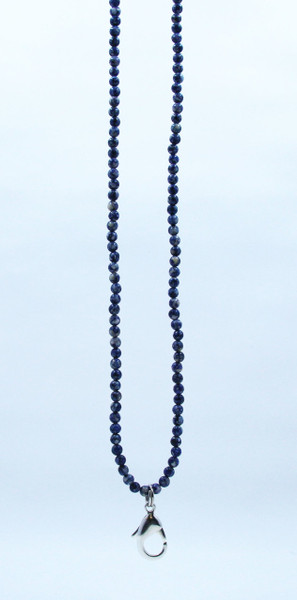Stodlite small Blue Beaded Lanyard