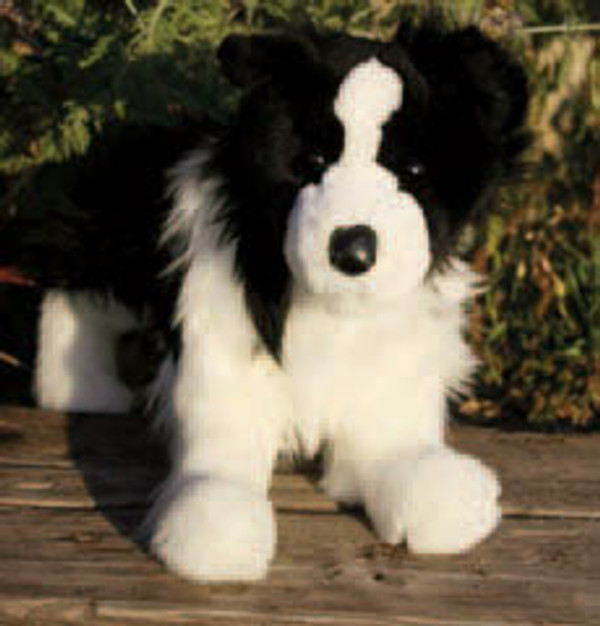 Chase Border Collie Plush Toy