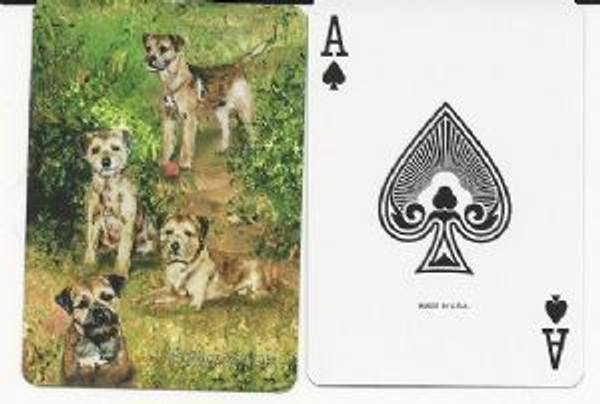 Border Terrier Playing Cards