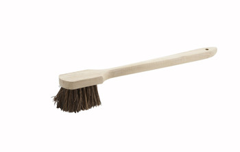 "Winco - BRP-20 - Pot Brush With Wood Handle, 20"" - 1/Each"