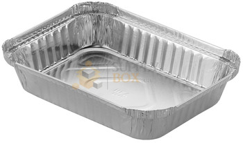 HFA - 4045-30-500 - 2 LB Oblong Foil Container - 500/Case