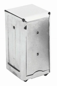 JR Dispenser for JDN (Junior Napkin Dispenser) Stainless Steel
