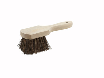 "Winco - BRP-10 - Pot Brush With Wood Handle, 10"" - 1/Each"