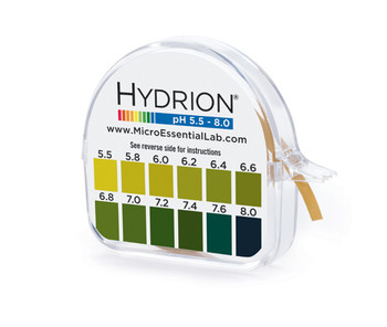 Hydrion (O67) Urine & Saliva pH Paper 5.5-8.0