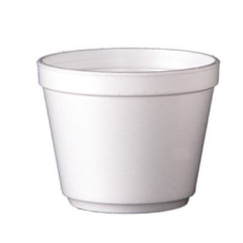 Dart - 20MJ32 - 20 Oz Foam Soup Container, White - 500/Case