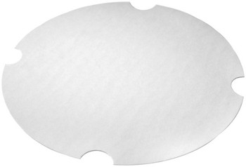 International Paper - LFRHM-170 - Flat Paper Lid fits DFM-170  - 200/cs