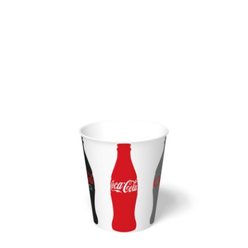 International Paper - DMS-12 - 12 oz Coca Cola Print II, Cold Paper Cups - 2000/cs