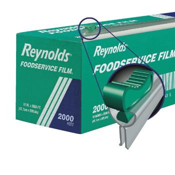 "Reynolds - 914SC - Slide Cutter 18""x2000ft Food Wrap - 1 Roll with Dispenser Cutter Box"