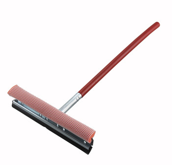 "Winco - WS-15 - 15"" Window Squeegee w/ Telescopic Handle - Each"