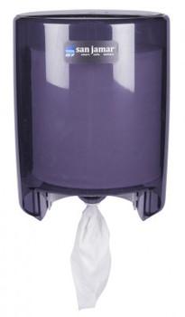 San Jamar - T400TBK - Centerpull Towel Dispenser, Black Pearl