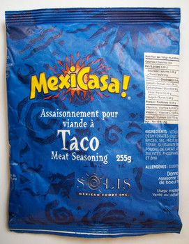 Solis Foods Mexicasa Taco Seasoning 9oz x 6
