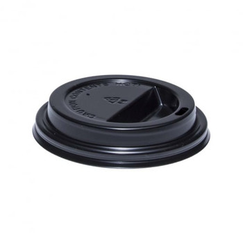 Morning Dew - 10DL-BK Dome Lids (Fits H10SE, H12E, H16E, 10-24oz cups), 1000/Case