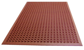 Johnson Rose - 3'X5' - Terracota Rubber Mat - 1 Unit/Each