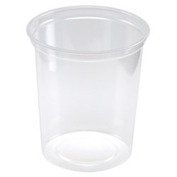 Maple Leaf - H2832 - 32 Oz Deli Container-Heavy, Clear - 500/Case