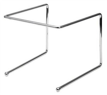 JR - 6495 - Pizza Tray Stand Chrome