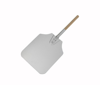 "Winco - APP-26 - 26"" Aluminum Pizza Peel, 12"" x 14"" Blade - Each"