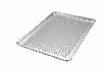 "Winco - ALXP-1826P - 18"" x 26"" Aluminum Sheet Pan, Perforated"
