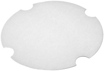 International Paper - LFRHM-85 - Flat Paper Lid fits DFS-54, DFM-85 - 200/cs