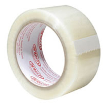 Cantech - 263-00 - 48mm x 132M - Economy Grade BOPP Clear Carton Tape - 48 Rolls/Case