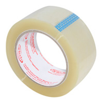 "Cantech - 257-00 - 48mm x 100M (2"" x110 yds.) Clear Carton Sealing Tape - 36 Rolls/Case"