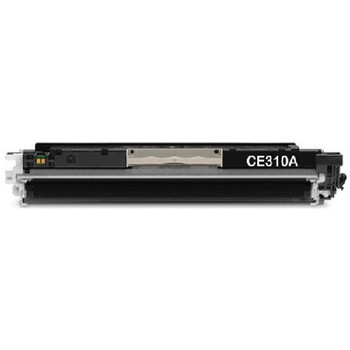 HP CE310A, Compatible Black Toner Cartridge, New