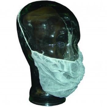Ronco - 1793 - Beard Covers Polyester Mesh White 10x100