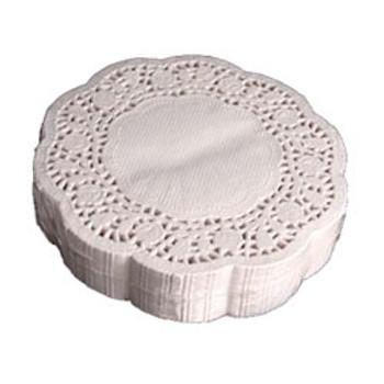 """6"""" Paper Doilies - 1000/Case"""