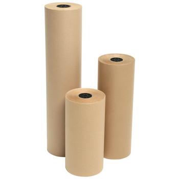 "Amber - DD25 - 12"" x DIA. 7"" Kraft Paper Rolls - 1 Roll/Each"