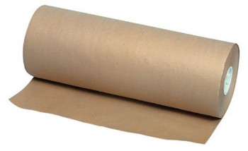 "Amber - 15""X DIA 7"" - Red Butcher Paper Roll - DD35 - 1 Roll/Each"