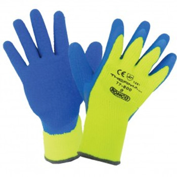 Ronco - 77-600-10 - Extra Large Thermal #77-600 Latex Coated Cold Resistant Gloves - 12 Pair/Pack