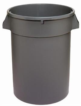 Dynapak - 32 Gallon Grey - Dyna Round Waste Container - 1 Unit/Each