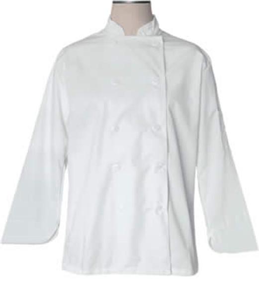 CI21809 Medium - Bodyguard White Chef Jacket Medium Size - Each