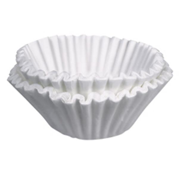 "BUNN 20111-0000, 6 Gallon (20"" x 7-3/4"") Coffee Paper Filters for Bunn Titan Dual Brewers, 250/case"