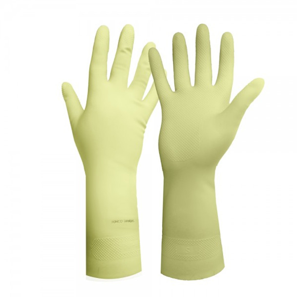Ronco - 125-09 - Large Canners 16 Mil Latex Unlined Gloves - 12 Pair/Pack