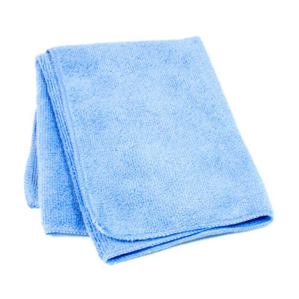 Amber - 14 x 14 Blue - Micro Fibre Cloth - 10/Pack