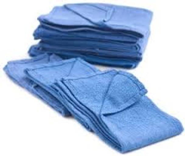 """Huck Blue Towels - 16""""x24"""""""