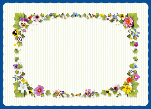 Sanfacon - 658 - Spring Time Placemats - 1000/Pack