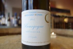 Domaine Bernard Bonin, Bourgogne Blanc Initiales B.B.