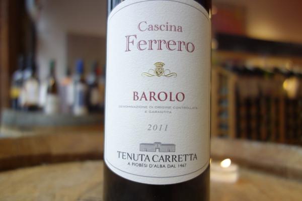 Tenuta Carretta, Barolo Cascina Ferrero (2011)