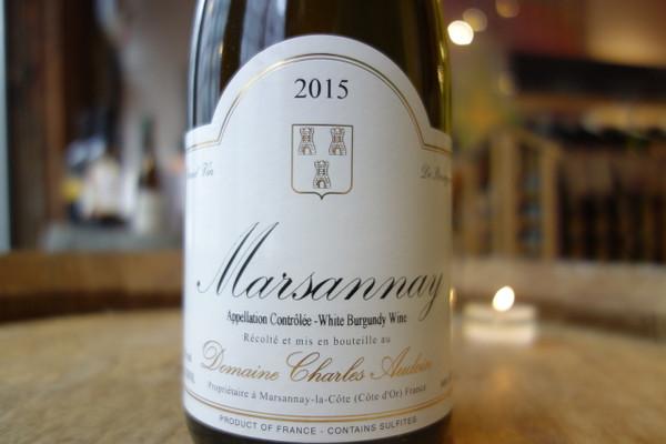 Domaine Charles Audoin Marsannay Blanc