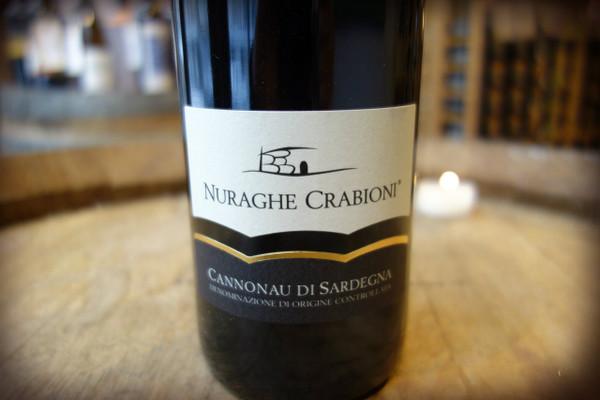 Nuraghe Crabioni Cannonau di Sardegna 2015