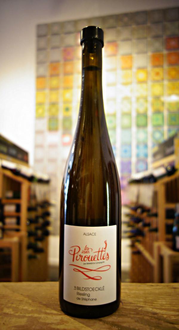 Les Vins Pirouettes by Binner, Le Bildstoecklé Riesling de Stéphane