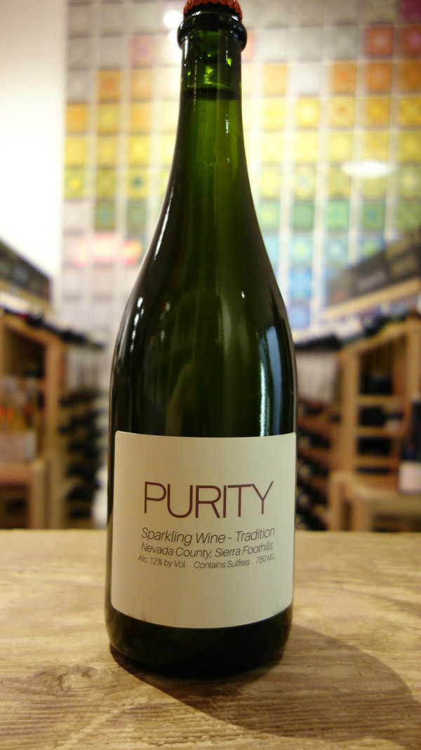 Purity Wine, Sparkling Method Brut (Sierra Foothills)