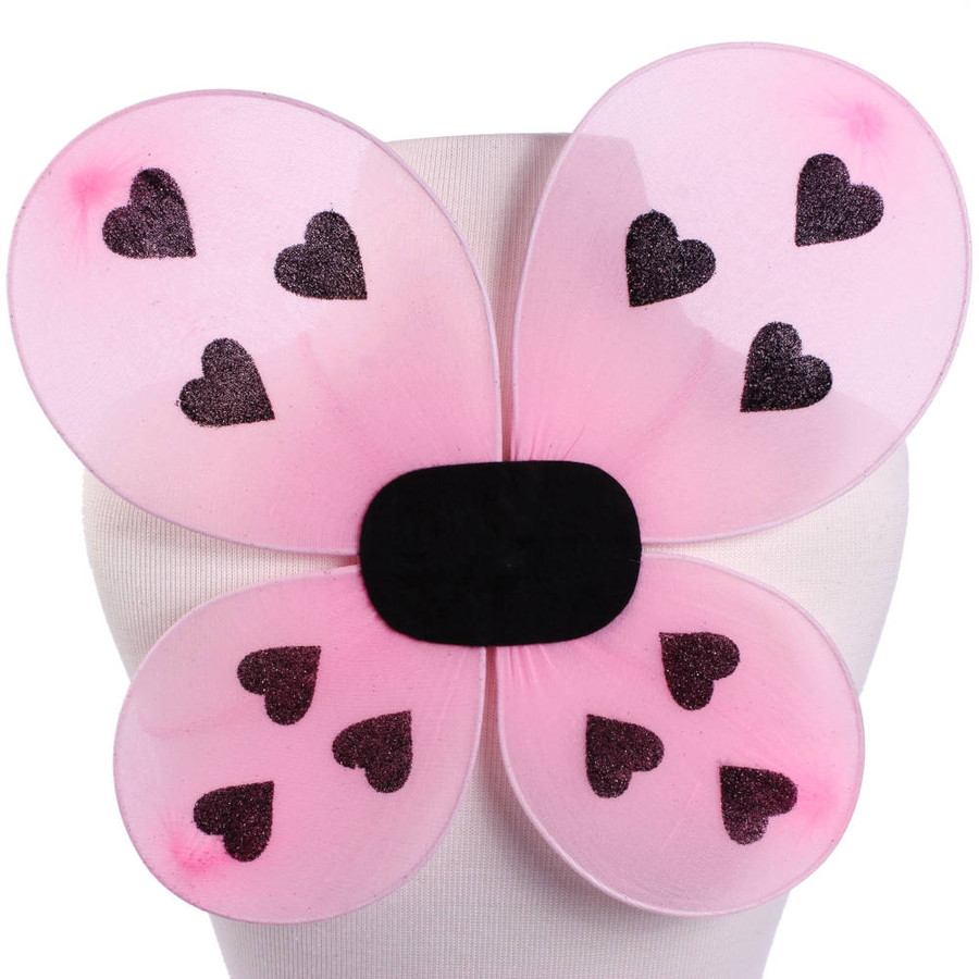 Pink Ladybug Wings Front
