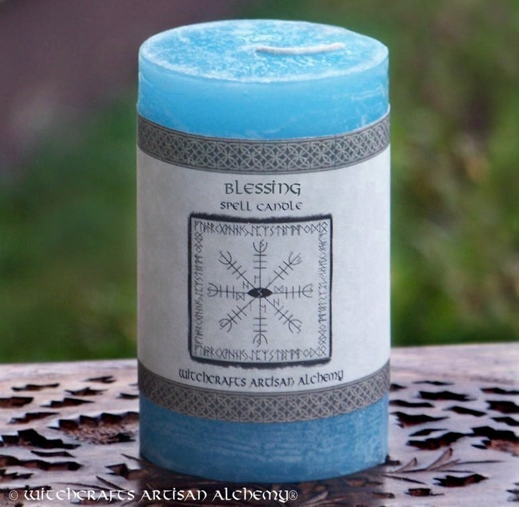 BLESSING Signature Spell Candle by Witchcrafts Artisan Alchemy
