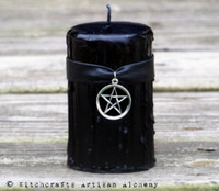 SALEM Witches Power Pentacle Candle