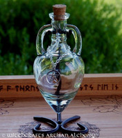 CRYSTAL VISIONS Crystal Clear Amphora w/ Stand