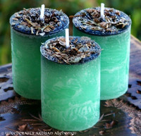 """GREENFINGERS Double Action Better Business """"Fusion Magic"""" Pillar Votive Candles"""