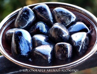 ASTROPHYLLITE Stone of the Ancients Tumbled Gemstone with Crystal Slivers