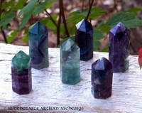 FLUORITE Crystal Generator Standing Point